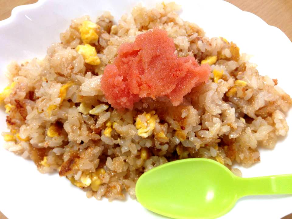 香味ペースト明太子チャーハン 香味ヘースとを使用した簡単めんたいこ炒飯レシピ