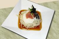 明太子レシピ 山芋とろろめんたいうどん