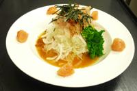 明太レシピ 新玉葱明太子酢サラダ